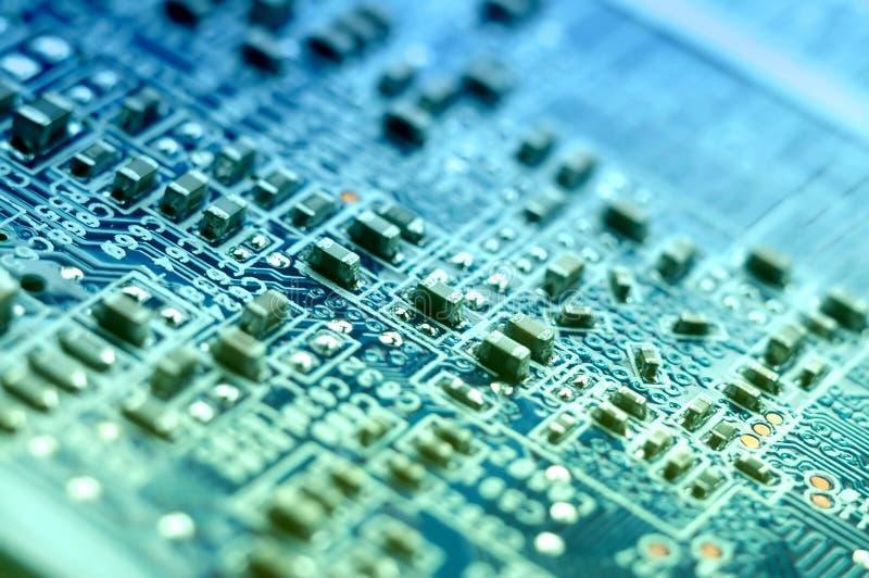 Elektronisch stock afbeelding