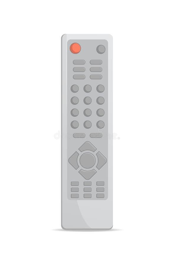 Elektronisch afstandsbedieningpictogram vector illustratie