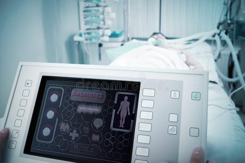 Elektronisch medisch hulpmiddel royalty-vrije stock foto's