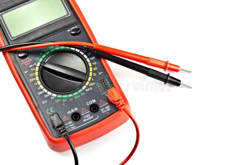 Elektronisch meetinstrument royalty-vrije stock foto