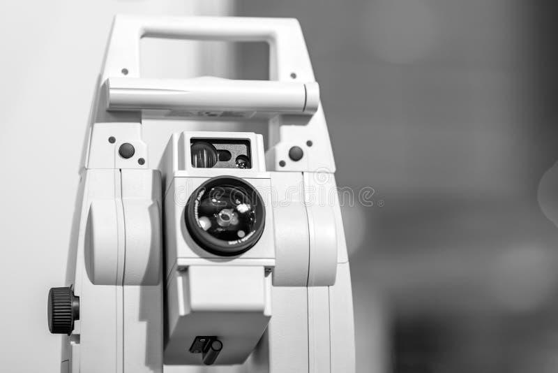 Elektronisch optisch meetinstrument stock afbeelding