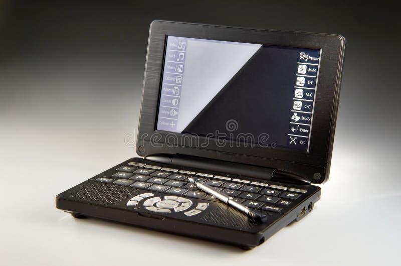 Elektronisch Woordenboek stock fotografie