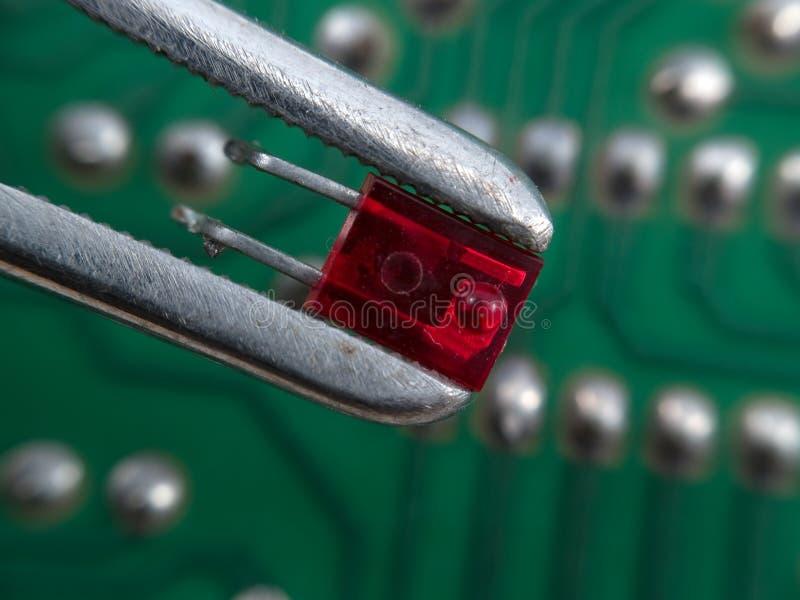 Elektronische assemblage stock afbeeldingen