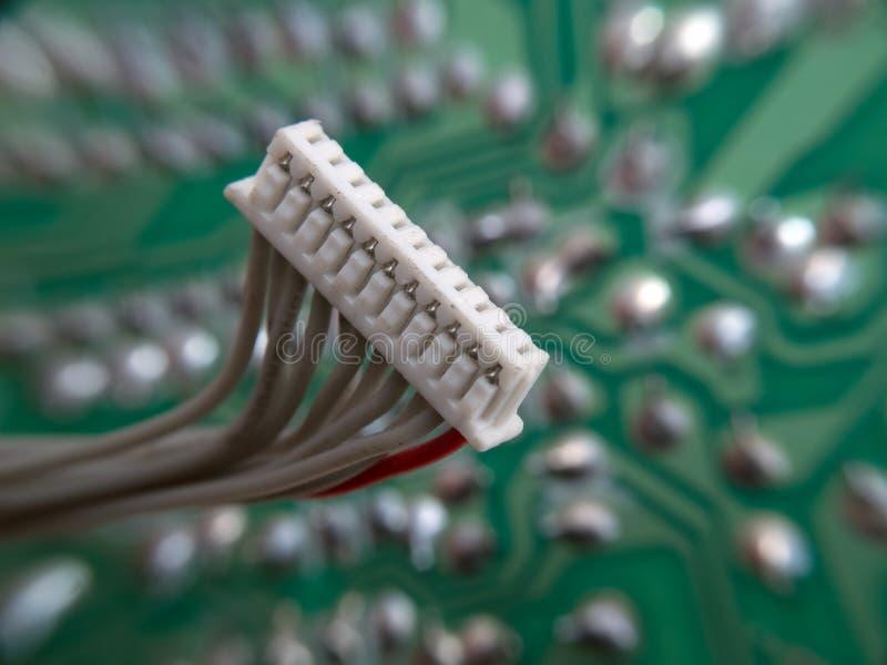 Elektronische assemblage royalty-vrije stock afbeelding