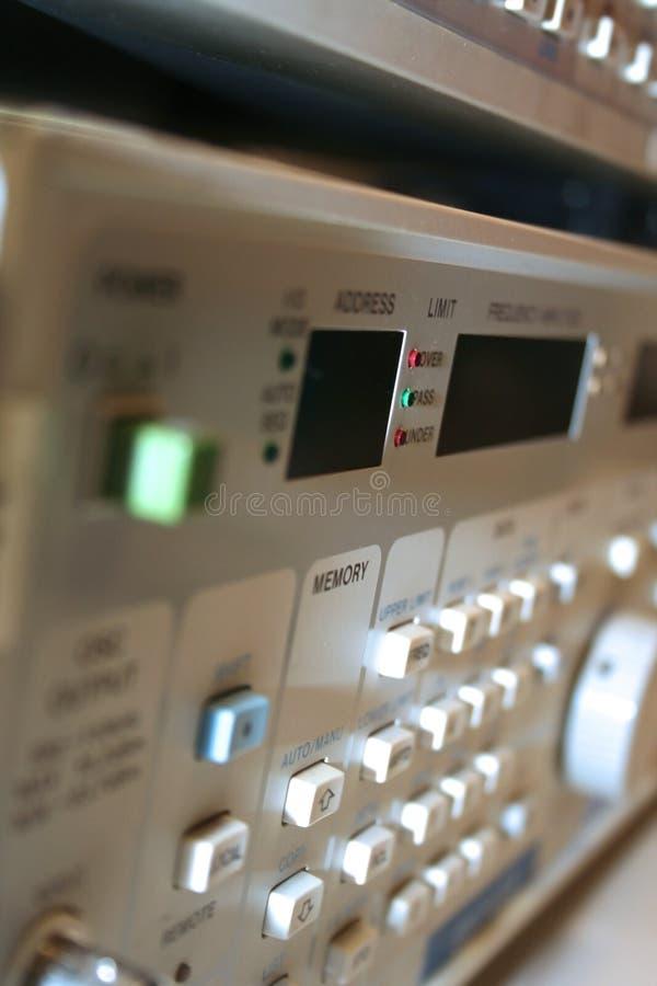 Elektronische Ausrüstung stockfotografie