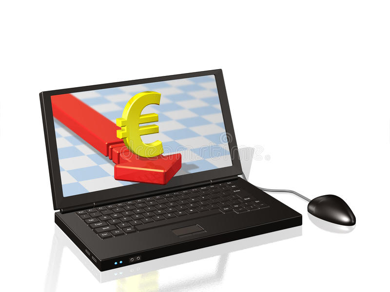 Elektronische betaling vector illustratie