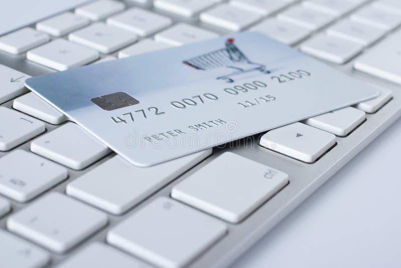 Elektronische betaling concept en e-belegt royalty-vrije stock foto's