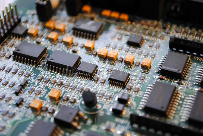 Elektronische board_1 royalty-vrije stock fotografie