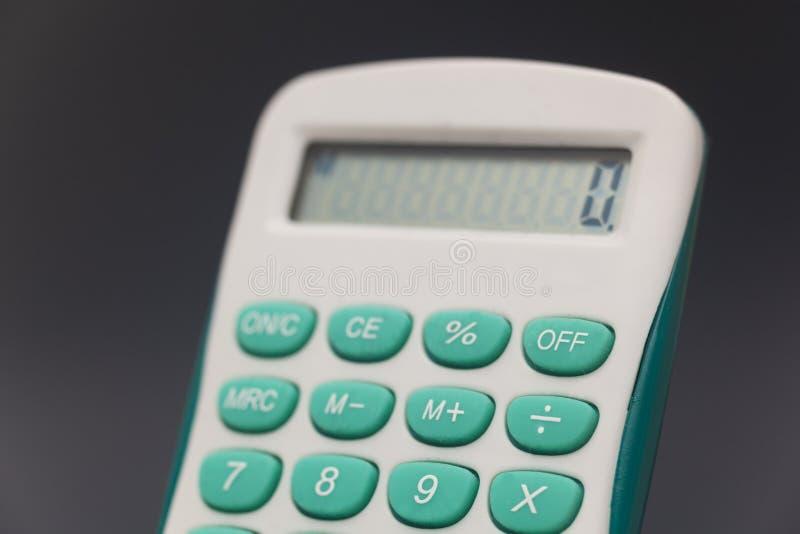 Elektronische calculator stock afbeelding