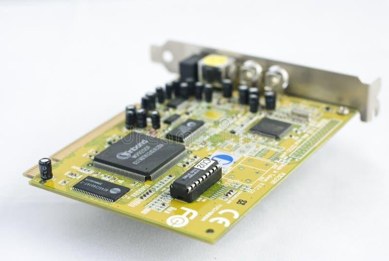 Elektronische component royalty-vrije stock fotografie