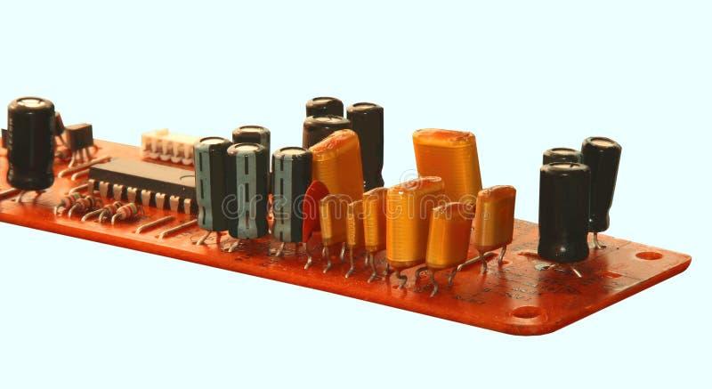 Elektronische componenten stock foto