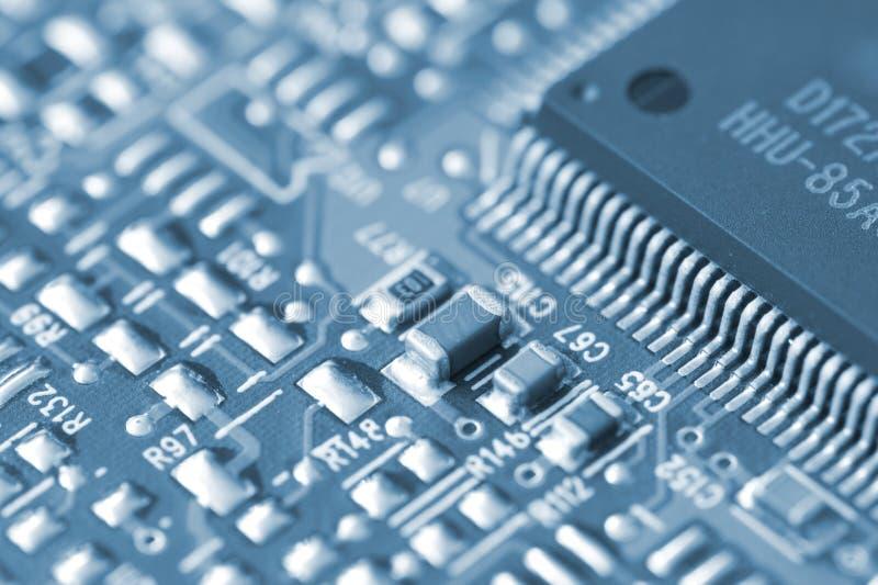 Elektronische compontents royalty-vrije stock afbeelding