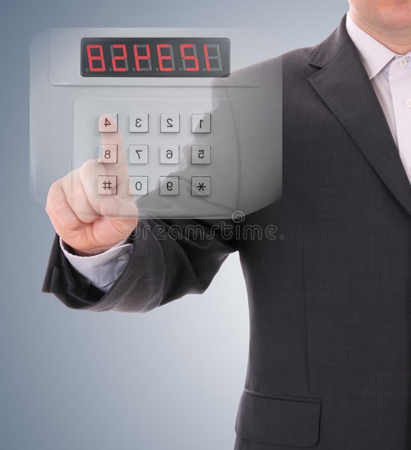 Elektronische controle en codage royalty-vrije stock fotografie
