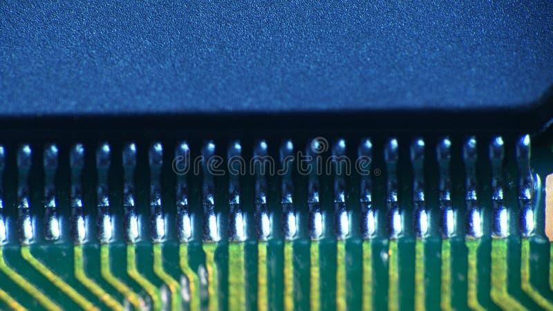 elektronische de Raads ultramacro van de printercontrole royalty-vrije stock fotografie
