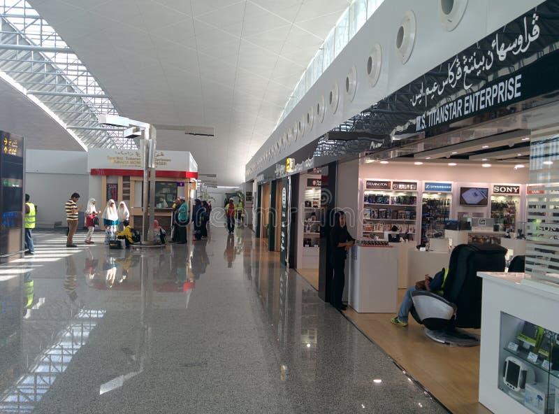 Elektronische detailhandel bij de Internationale Luchthaven van Brunei royalty-vrije stock afbeelding