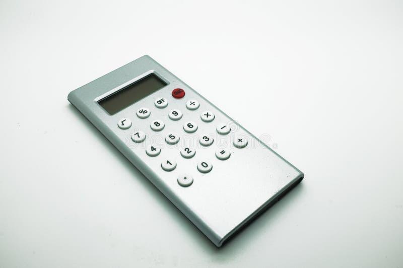 Elektronische digitale calculator royalty-vrije stock foto