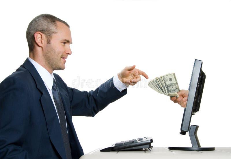 Elektronische handel royalty-vrije stock afbeelding