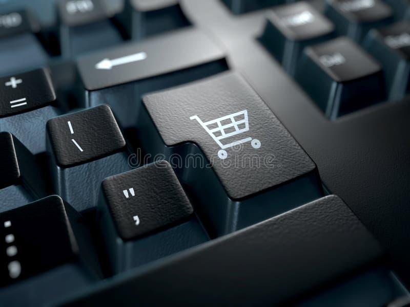 Elektronische handel stock foto