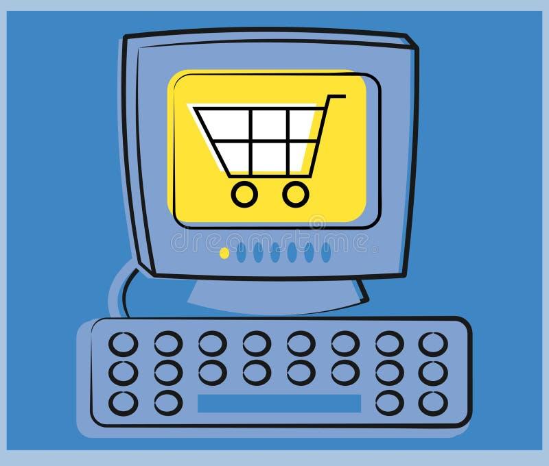 Download Elektronische handel vector illustratie. Afbeelding bestaande uit selling - 46330