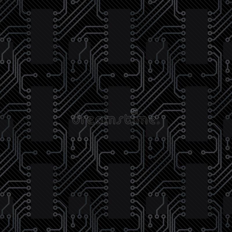 Elektronische Leiterplatte vektor abbildung