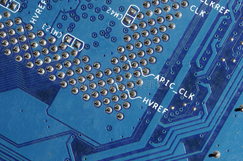 Elektronische Leiterplatte lizenzfreie stockbilder