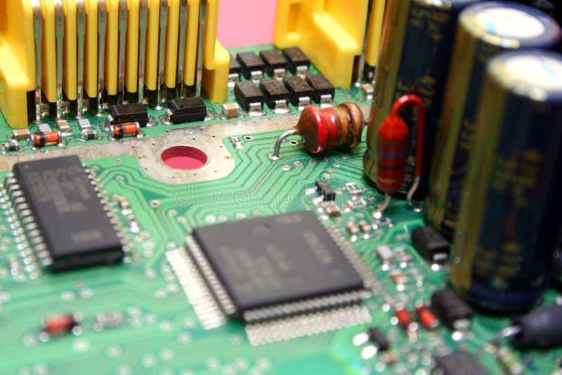 Elektronische Leiterplatte stockfoto