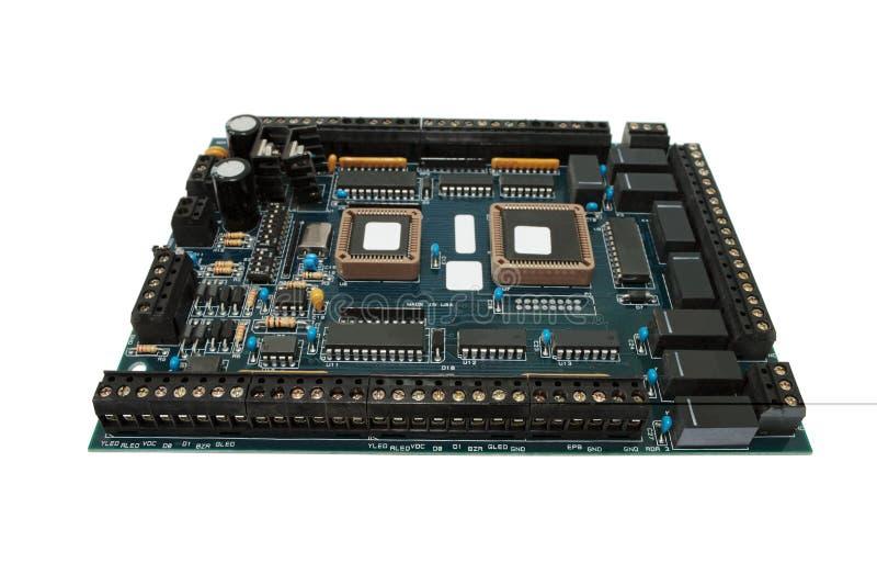 Elektronische Leiterplatte. lizenzfreie stockfotografie