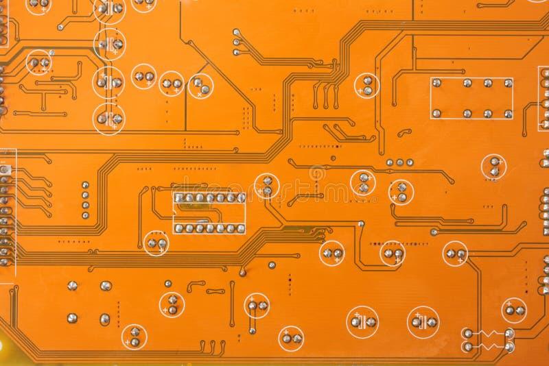 Elektronische microchip stock foto