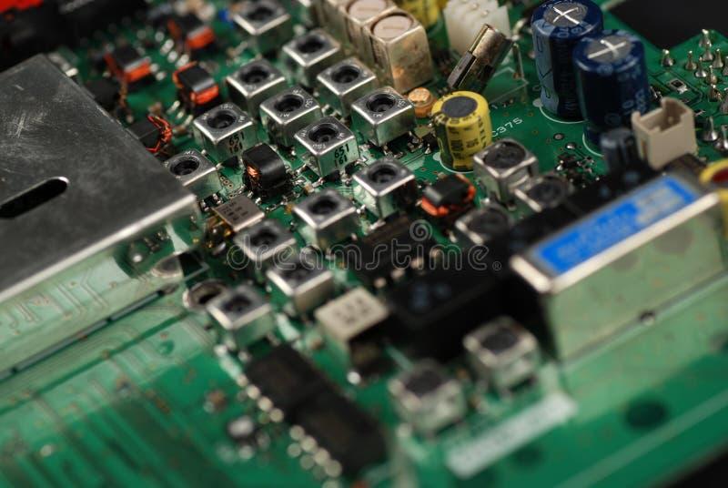 Elektronische raad stock foto's