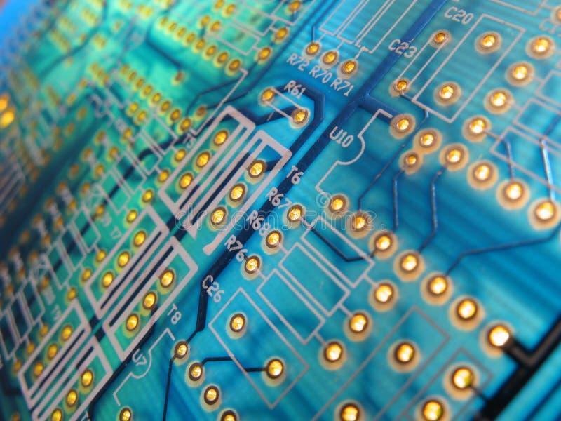 Elektronische raad stock fotografie