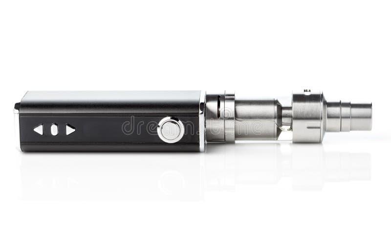 Elektronische sigaret die op wit wordt geïsoleerdi royalty-vrije stock fotografie