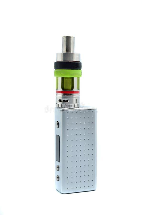 Elektronische sigaret e-sigaret stock fotografie