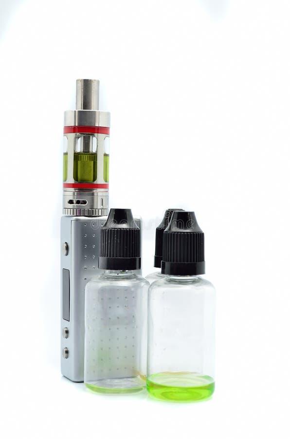 Elektronische sigaret e-sigaret stock afbeeldingen