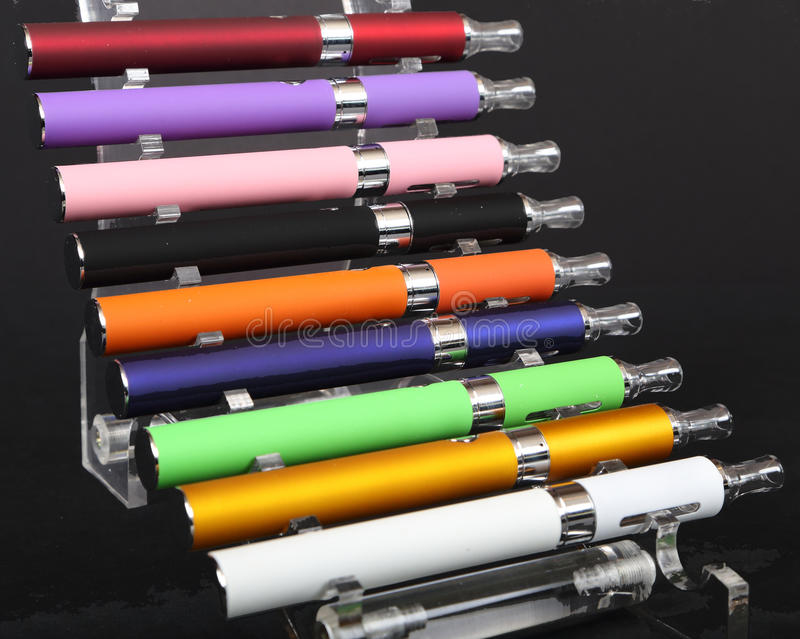 Elektronische sigaretten royalty-vrije stock fotografie
