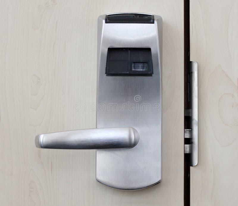 Elektronische Tür stockbilder