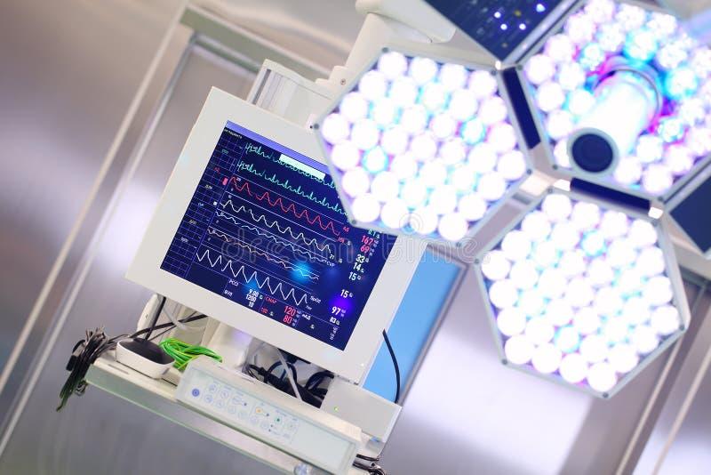 Elektronische technologie in geneeskunde stock afbeeldingen