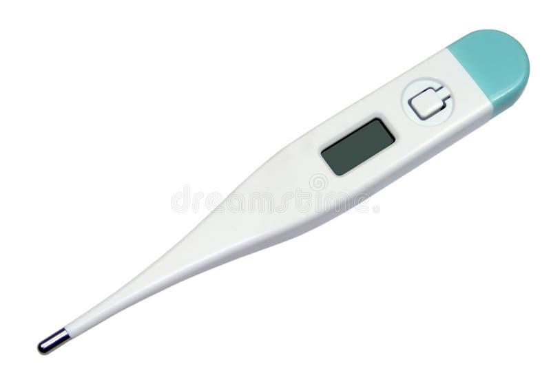 Elektronische Thermometer stock foto