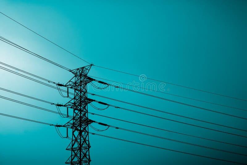 Elektronische toren royalty-vrije stock foto