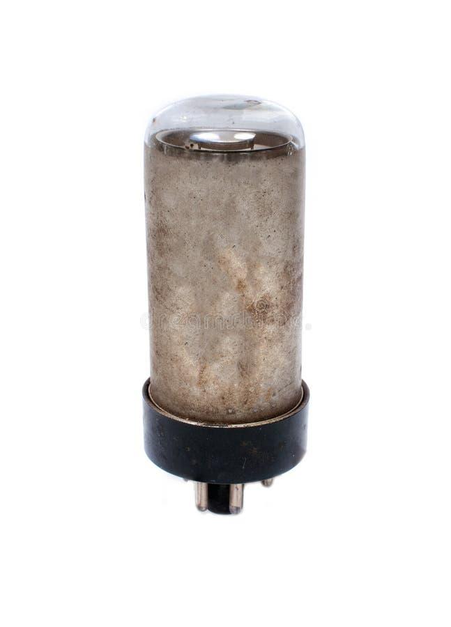 Elektronische vacuümlamp stock afbeeldingen