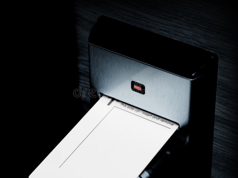 Elektronische Verriegelung lizenzfreies stockbild