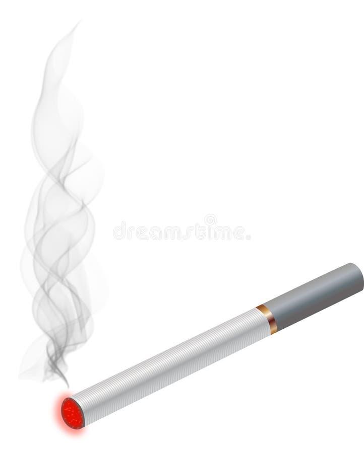 Elektronische Zigarette stock abbildung