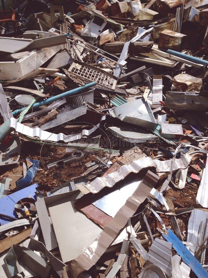 Elektronischer Abfall lizenzfreies stockbild