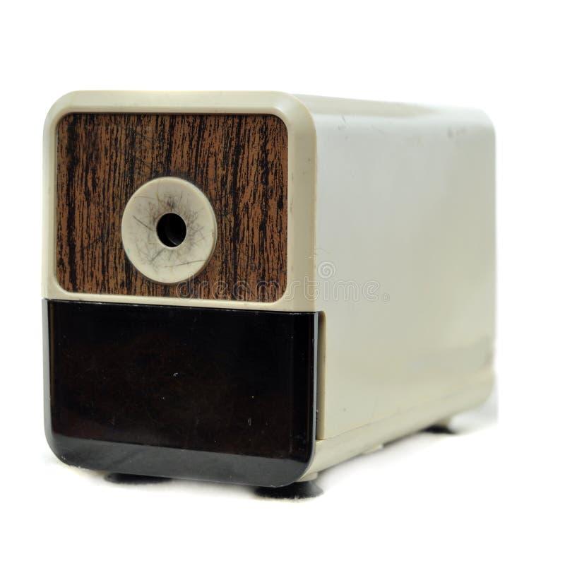 Elektronischer Bleistiftspitzer lizenzfreie stockfotos