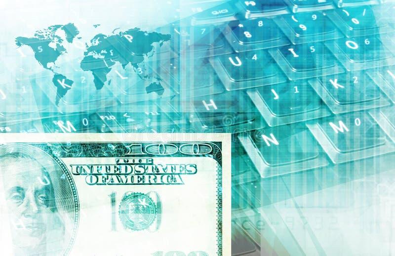 Elektronischer Geschäftsverkehr stock abbildung