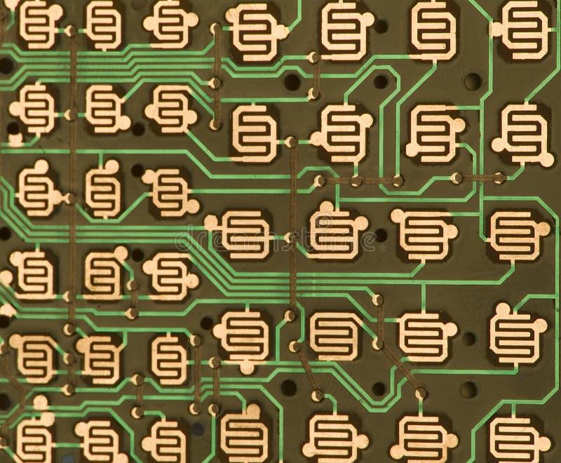 Elektronischer Kreisläuf lizenzfreies stockfoto