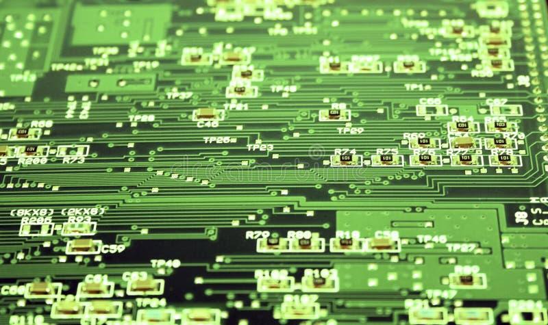 Elektronischer Vorstand lizenzfreie stockfotografie