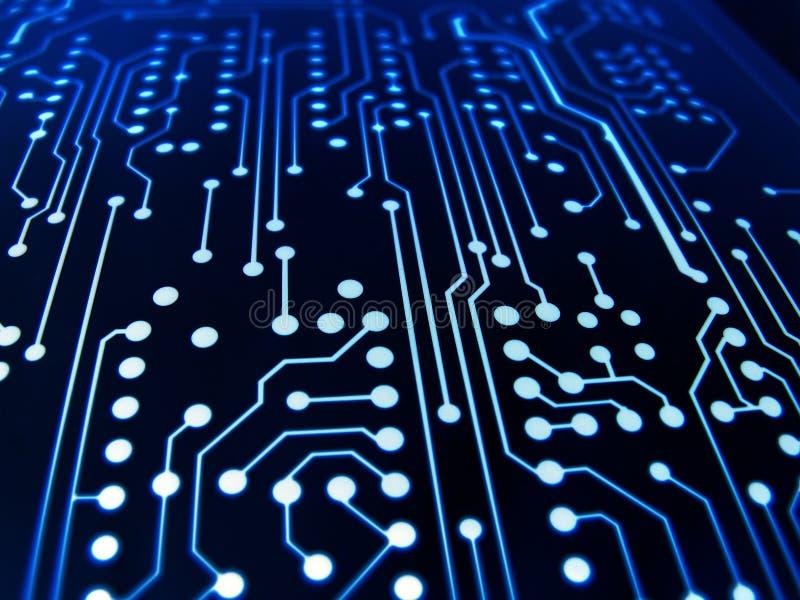Elektronischer Vorstand lizenzfreie stockfotos