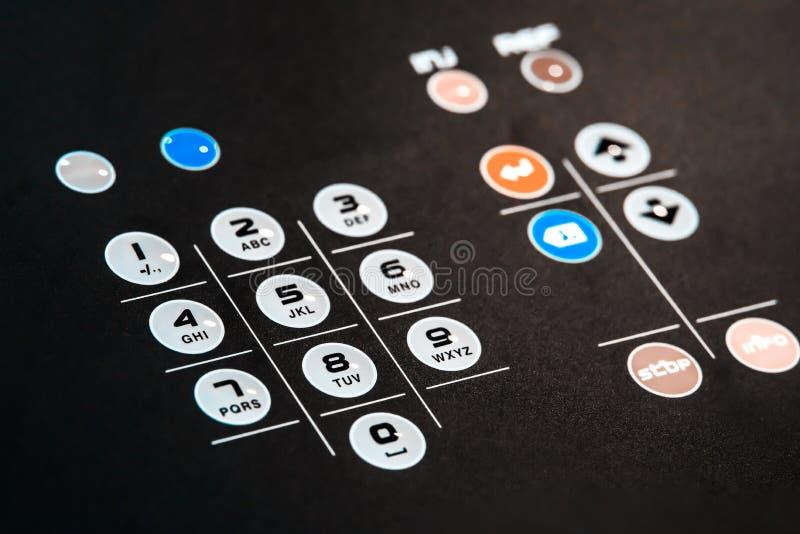 Elektronisches Basissteuerpult lizenzfreie stockbilder