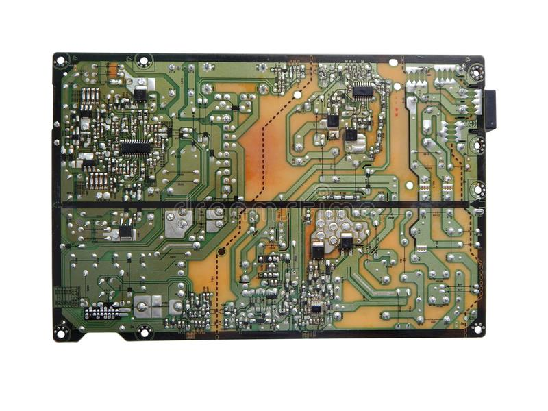 Elektronisches Brett des Fernsehens lizenzfreies stockfoto