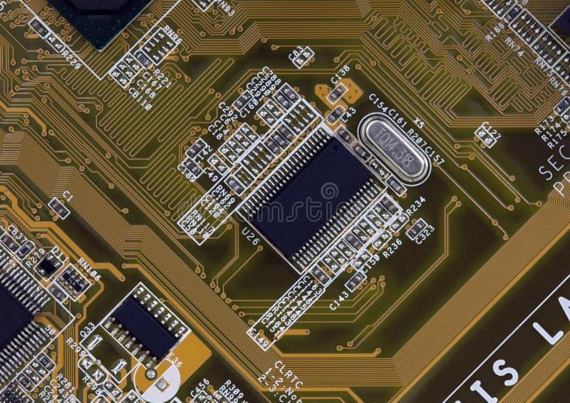 elektronisk brädedetalj royaltyfri fotografi